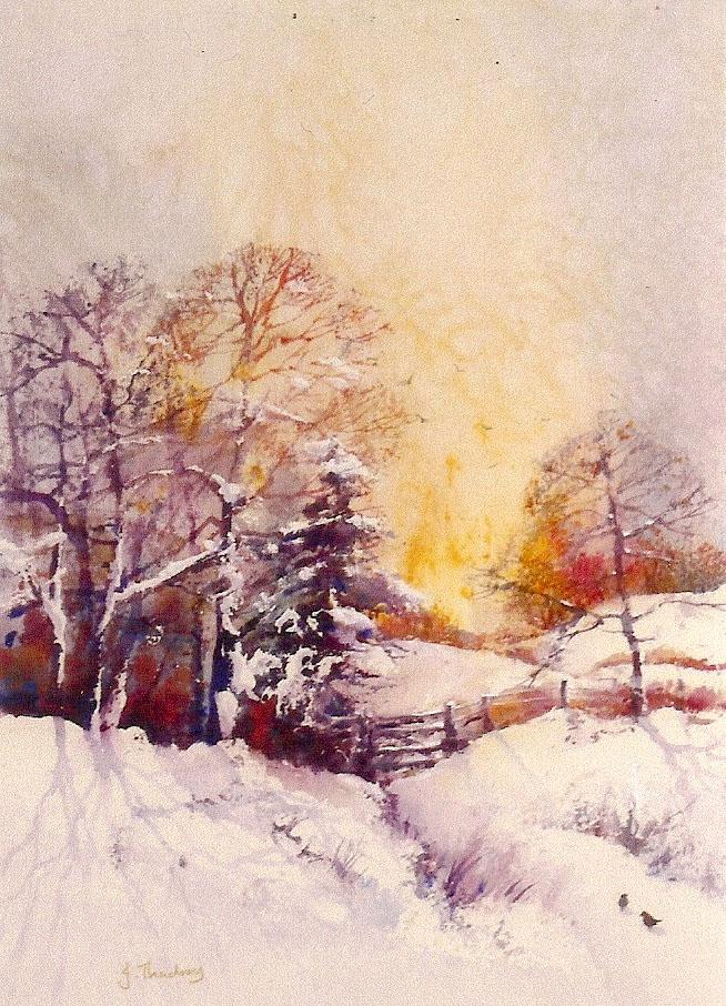 Thackray Snow Scene