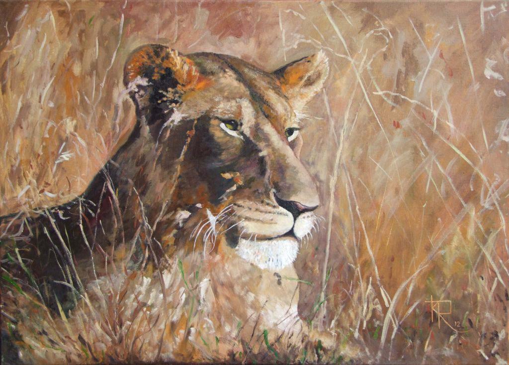 Keith Robinson 3.  Lioness