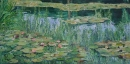 Keith Robinson 5.  Water Lilies and Reflected Willows