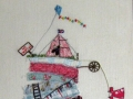 Lesley Webb Homage to Tracy Savage - Textile