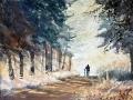 Williams Morning stroll
