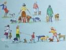 Tony Hunter Lady dogwalkers